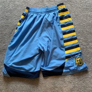 Marquette Jordan Authentic Shorts Large L